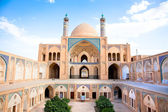 Agha Bozorgi school and mosque in Kashan — Stock Photo