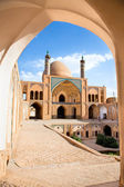 Agha Bozorg school and mosque in Kashan — Stock Photo