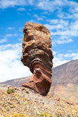 The Thumb of God of Roques de Garcia mountains and the Teide, Tenerife, Spa — Stock Photo