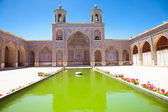 Nasir al-Mulk Mosque, Nasir al-Molk Mosque, Shiraz — Stock Photo