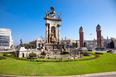Espanya Square in Barcelona — Stock Photo