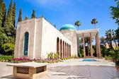 Saadi mausoleum in Shiraz — Stock Photo