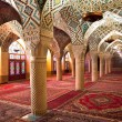 Prayer Hall of Nasir al-Molk Mosque, Iran - Stock Photo