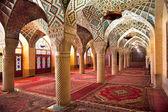 Prayer Hall of Nasir al-Molk Mosque, Iran — Stock Photo