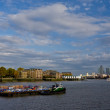 Stock Photo: The Thames river in London