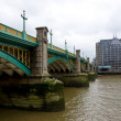 Thames's bridge — 图库照片