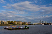 The Thames river in London — Stock Photo