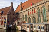 Gotiska byggnader — Stockfoto