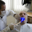 Visit at the Dentist — Stock Photo