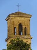 Chiaravalle dzwonnica — Zdjęcie stockowe