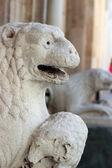 Romanesque Lion statue — Stock Photo