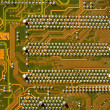 Stock Photo: Details of electronic circuit