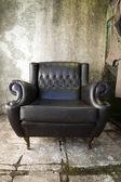 复古扶手椅 — 图库照片