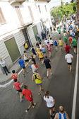 非竞争性赛跑者 — 图库照片