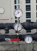 Pressure gauges — Stock Photo
