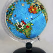 Flowered globe - Stock Photo