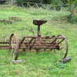 Historic agricultural implement — Stock Photo