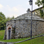 Anciente ice house , Varese , Italy — Stock Photo