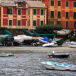 Stock Photo: Boat in Portofino