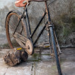 Stock Photo: Retro bicycle