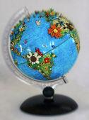 Flowered globe — Stock Photo