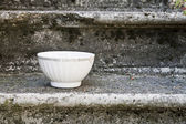 Empty Vintage bowl, — Stock Photo