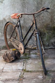 Retro bicycle — Stock Photo