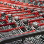 Shopping carts — Stock Photo #8085824