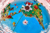 Flowered South America Globe — ストック写真