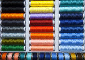 Colorful threads background — Stock Photo