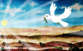 Peace dove — Stock Photo