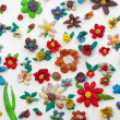 Plasticine Flowers — Stock Photo #8113949