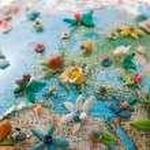 mediterrane bloesem — Stockfoto