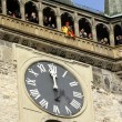Stock Photo: Detail of Prague Astronomical Clock