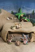 耶稣诞生 — 图库照片