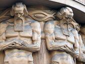 Elders statues — Stock Photo