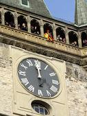Detail of Prague Astronomical Clock — Stock Photo