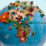 Flowered Africa — Stock Photo