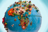 Flowered Africa — Stock Photo