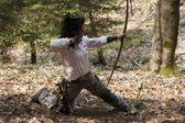 Female archer — Stock Photo