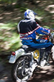 Vintage enduro race — Stock Photo