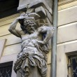 Baroque statue — Stock Photo