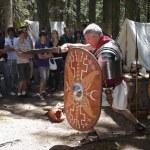 Постер, плакат: Roman legionary fights