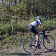 Ciclocross young athlete — Stock Photo