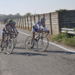 Group of cyclists — Stok Fotoğraf #8168446
