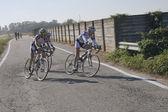 Grupo de ciclistas — Foto de Stock