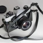 Slr camera — Stock Photo #8222435