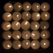 Stock Photo: Candles Square