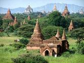 Temples in Bagan, Myanmar — Stock Photo