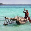 Stock Photo: Fishermpirogue